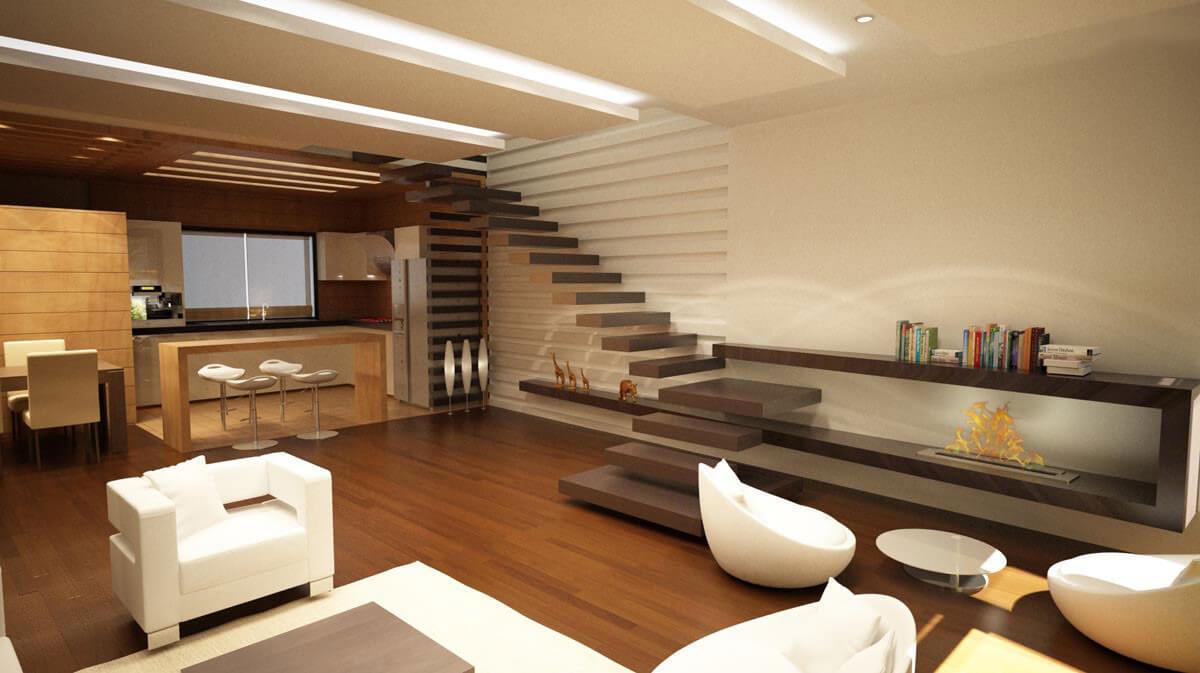 اویز اپن The implementation of the project, interior design #10292 - جویشگر